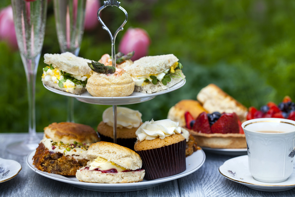 Scones are a must for an English tea party