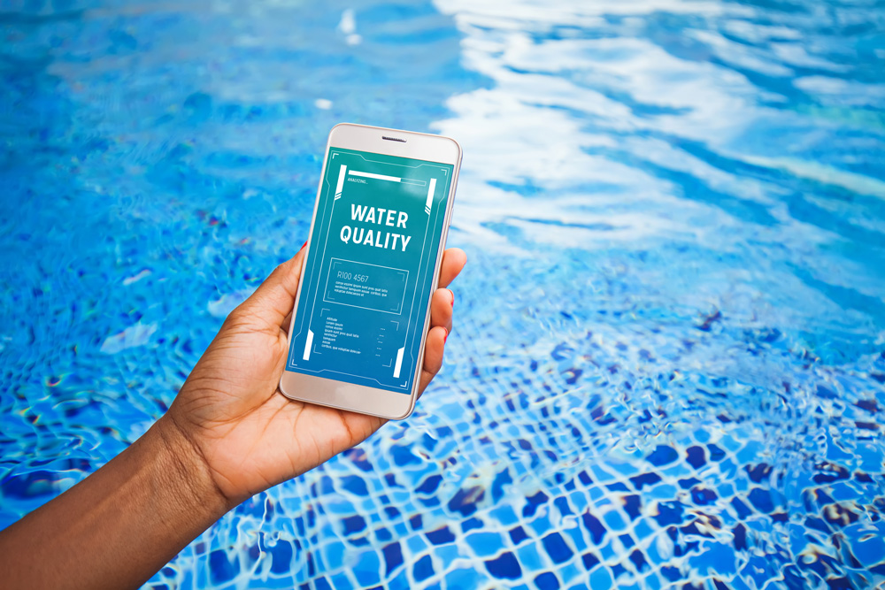 Check your water quality with smart pool tech