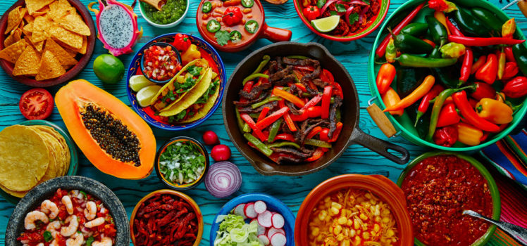 Celebrate Cinco de Mayo with foods from Mexico