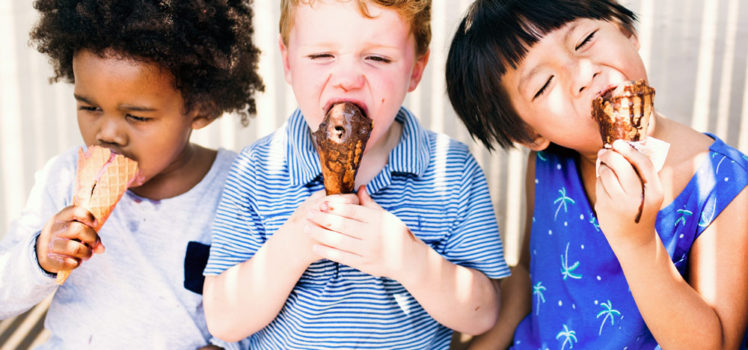 Everyone loves ice cream parties!